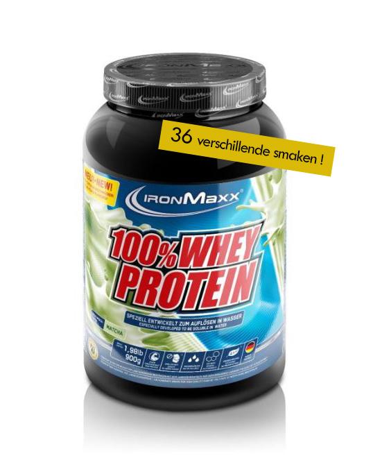 Voeding en dieet-inshapemetpat-100% Whey proteïne 900g-36 smaken