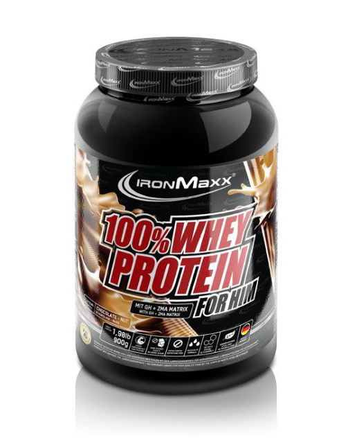 Voeding en dieet-inshapemetpat-100% whey protein voor hem