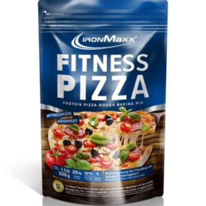 Voeding en dieet-inshapemetpat-Proteïne pizza blauw