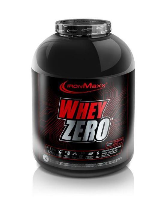 Voeding en dieet-inshapemetpat-Whey ZERO 2270g framboos