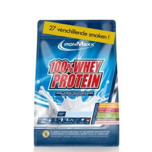 Voeding en dieet-inshapemetpat-Whey proteïne zak 900g 27 verschillende smaken