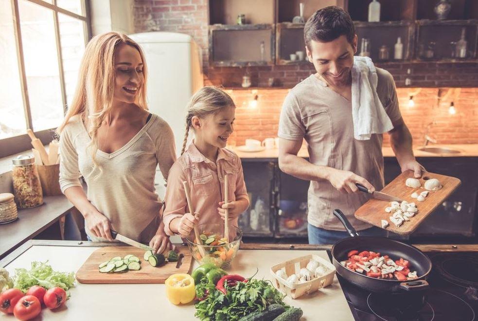 koken-met het-gezin