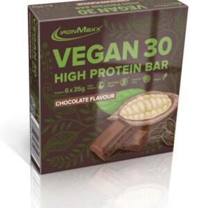 voeding-en-dieet-vegan-proteïnereep-chocolade